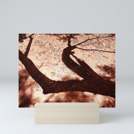 African Shadow Tree 5 Mini Art Print