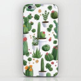 Succulent Cacti iPhone Skin