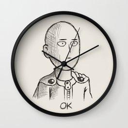 saitama okok Wall Clock