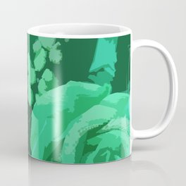 Green Roses Coffee Mug