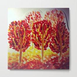 Fall Afternoon Metal Print