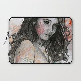 You Lied (nude girl with mandala tattoos) Laptop Sleeve