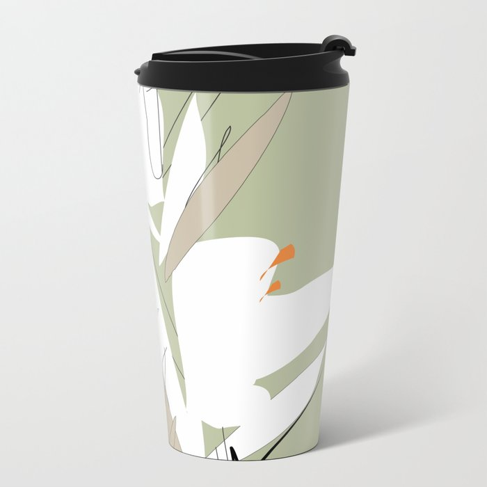 Spring Metal Travel Mug