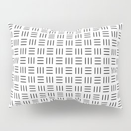Security Pattern Pillow Sham