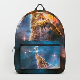 Carina Nebula, Galaxy Background, Universe Large Print, Space Wall Art Decor, Deep Space Poster Backpack