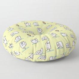 Toilet Paper Yoga Floor Pillow