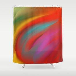 Vent fou Shower Curtain