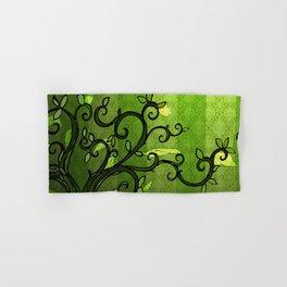 LEAVE - Summer Green Hand & Bath Towel