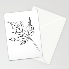 """ Halloween Collection "" - Autumn Leaf Stationery Cards"
