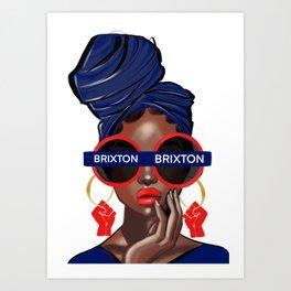 'Brixton' Art Print