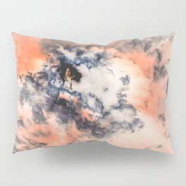 This Mermaid Has Her Head in The Clouds Pillow Sham