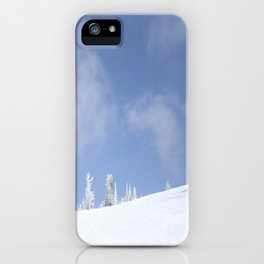 Winter day 14 iPhone Case