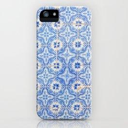 Lisbon tiles iPhone Case