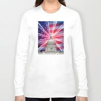 politics Long Sleeve T-shirts featuring The World of Politics by politics
