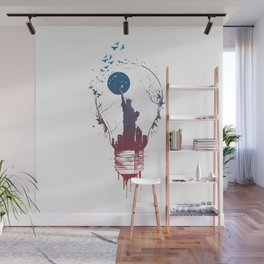Big city lights II Wall Mural