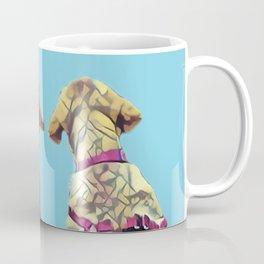 Three Amigos I in aqua Coffee Mug