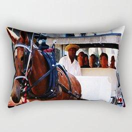 New Orleans Buggy Rectangular Pillow