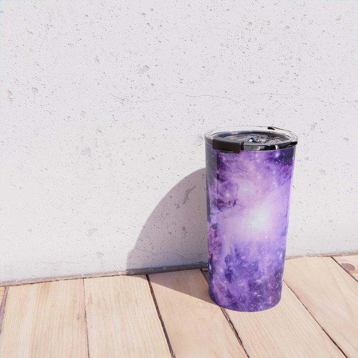 Orion nebUla. : Purple Galaxy Travel Mug
