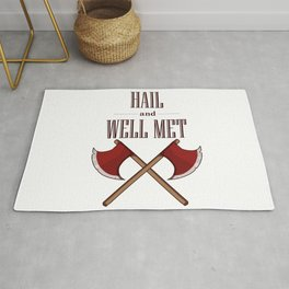Hail and Well Met Rug