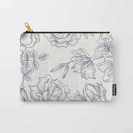 Vintage Roses x Springflowers Carry-All Pouch