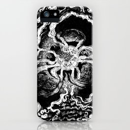 Live elves and fairies in a ring iPhone Case