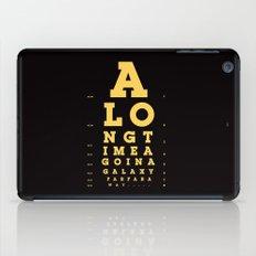 Jed Eye Chart iPad Case