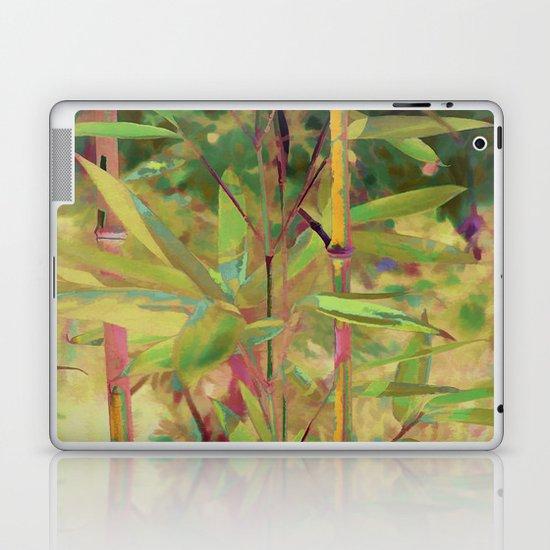 Painted Bamboo Laptop & iPad Skin
