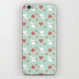 Baby Unicorn with Hearts iPhone Skin