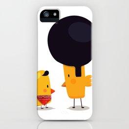Chicken Talk iPhone Case