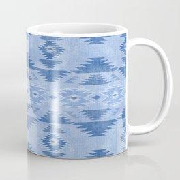 southwest weathered denim Coffee Mug