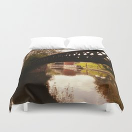 Canal Dreams Duvet Cover