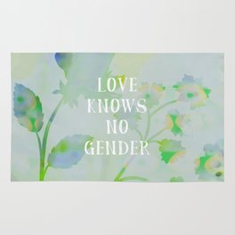 Love Knows No Gender Rug