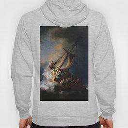 Stolen Painting - The Storm on the Sea of Galilee by Rembrandt Hoody