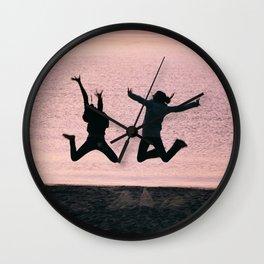Jump for Joy Wall Clock