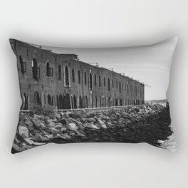 The Edge of Brooklyn Rectangular Pillow