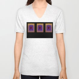 tre quadri Unisex V-Neck