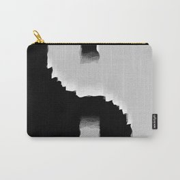 grunge yin yang Carry-All Pouch