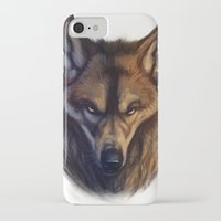 bad wolf iPhone & iPod Cases featuring Bad Wolf by Melantic Art & Illustration