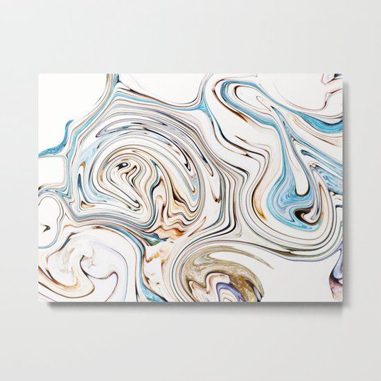 Land & Ocean #society6 #decor #buyart Metal Print