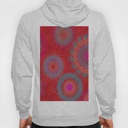 Red Kaleidoscope Hoody