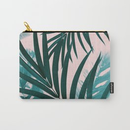Palm & Monstera Leaves Mix #1 #foliage #decor #art #society6 Carry-All Pouch