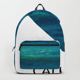 cali love, ocean heart Backpack