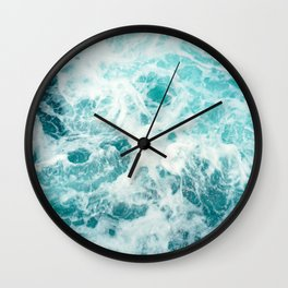 Ocean Sea Waves Wall Clock