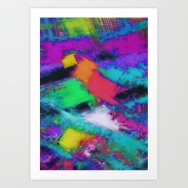 The selection Art Print