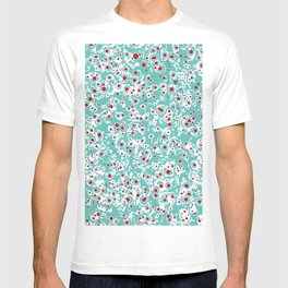 red wild dots T-shirt
