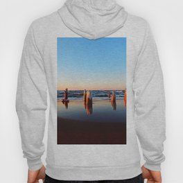 Reflected Remains on the Beach Hoody