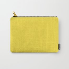 Daffodil (Yellow) Color Carry-All Pouch