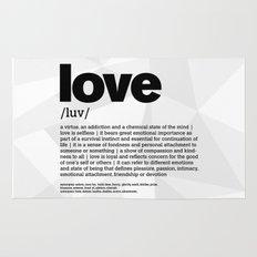 definition LLL - Love 1 Rug