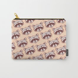 Happy raccoon Carry-All Pouch