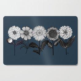 Gerbera Daisy Cutting Board